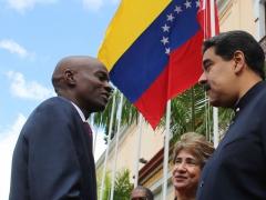 Haitian President Moise & Venezuelan President Maduro